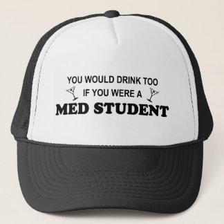 余りに飲み物- Med学生 キャップ