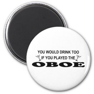 余りに飲み物- Oboe マグネット