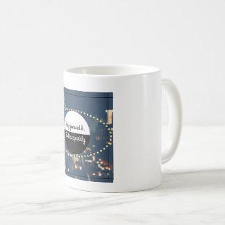 余分きらめく集中し続ければ コーヒーマグカップ