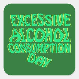 余分なアルコール消費日 スクエアシール