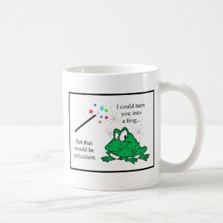 余分なカエル コーヒーマグカップ