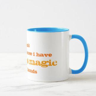 余分な魔法のマグ マグカップ