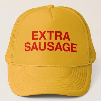 余分ソーセージのおもしろいのスローガンのトラック運転手の帽子 キャップ