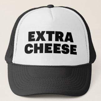 余分チーズおもしろいのスローガンのトラック運転手の帽子 キャップ