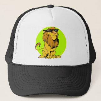 余分不機嫌なライオン キャップ