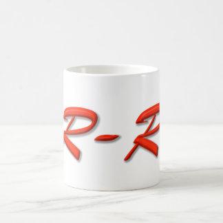 余分重複のロゴ コーヒーマグカップ