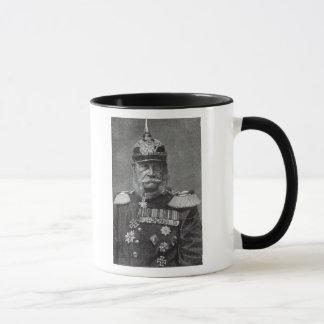 「余暇時間」からのKaiserウィルヘルム、1888年 マグカップ
