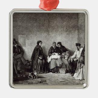 「余暇時間」からのMont de Piete、1891年 メタルオーナメント