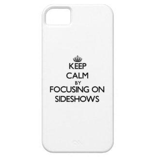 余興に焦点を合わせることによって平静を保って下さい iPhone SE/5/5s ケース