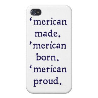 「作られるmerican -青 iPhone 4/4S ケース