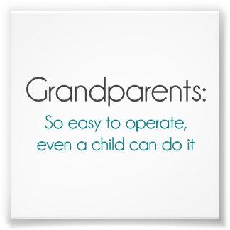 作動するべき祖父母従って簡単 フォトプリント