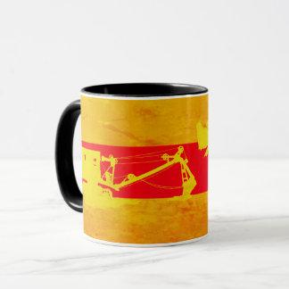 作動エンジニア早いケーブルは北西にシャベルで掘ります マグカップ