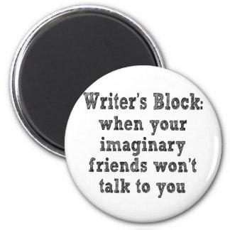 作家のブロック: マグネット