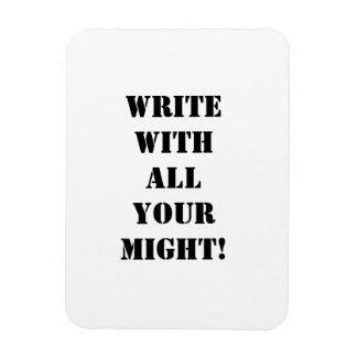 作家の感動的な磁石 マグネット