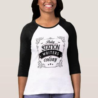 作家のraglan袖 tシャツ