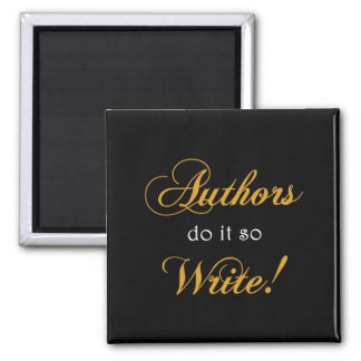 作家はそれをします従って書いて下さい! マグネット