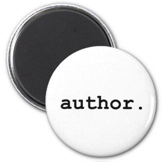 作家-あなたの生命の作家のための… マグネット
