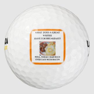 作家 ゴルフボール