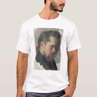 作家Nikolay Pomyalovskyのポートレート、1860年 Tシャツ