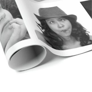 作成あなたの自身の10写真のコラージュのギフト用包装紙 ラッピングペーパー
