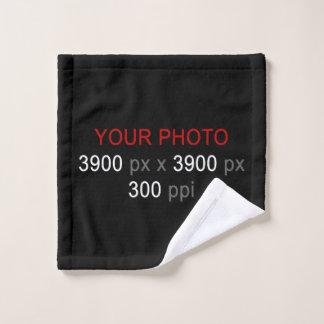 """作成して下さいあなた自身のカスタムな写真の洗浄布13""""をx 13"""" ウォッシュタオル"""