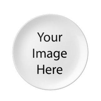 作成して下さい あなたの 所有するため 装飾的 磁器 プレート 磁器製 皿