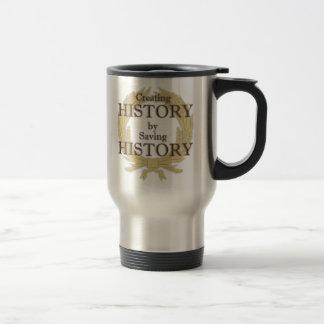 作成します歴史のマグ(両側)を トラベルマグ
