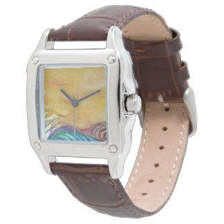 """""""作成の形""""の腕時計の顔 腕時計"""