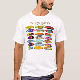 作成の未来のサーファー Tシャツ
