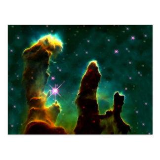 作成のM16ワシの星雲か柱 ポストカード