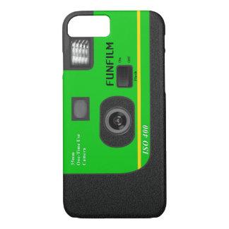 使い捨て可能なカメラ- I6緑 iPhone 8/7ケース