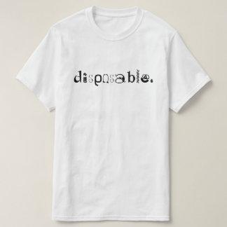 使い捨て可能 Tシャツ