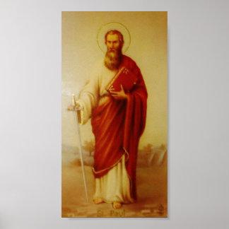 使徒のセントポールポスターのヴィンテージのイメージ ポスター
