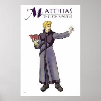 使徒のマティアスのクリスチャンポスター ポスター