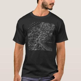 使徒の島の地図のティー Tシャツ