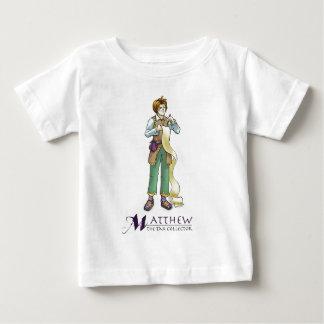 使徒のMatthewの幼児キリスト教のTシャツ ベビーTシャツ