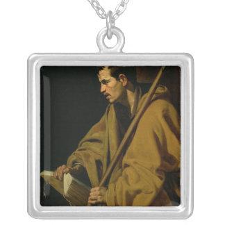 使徒セントトーマス、c.1619-20 シルバープレートネックレス