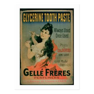 「使用されて」は、ポスター広告「GlyをAllways使用しました、 ポストカード