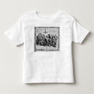 使用人のホールのクリスマス トドラーTシャツ