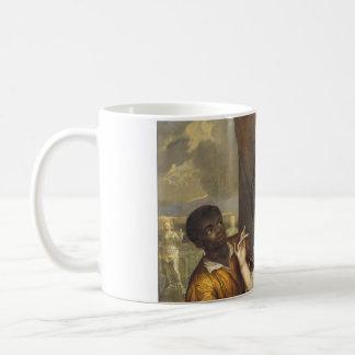 使用人を持つメリースチュワートのポートレート コーヒーマグカップ