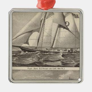 例えば水先船の騎士およびWhilldin メタルオーナメント