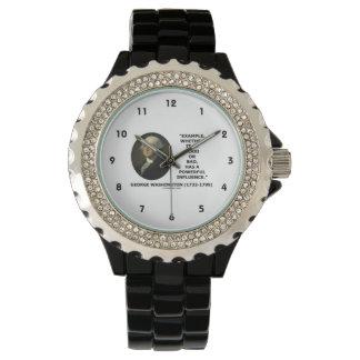 例のよくか悪く強力な影響ワシントン州 腕時計