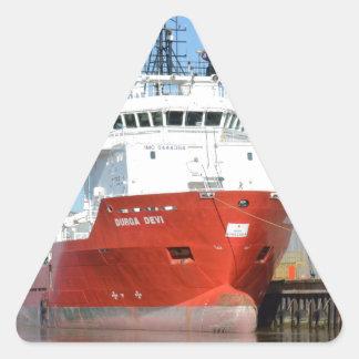 供給の容器Durga Devi 三角形シール