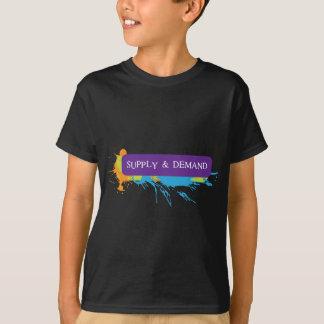 供給及び要求バンド Tシャツ