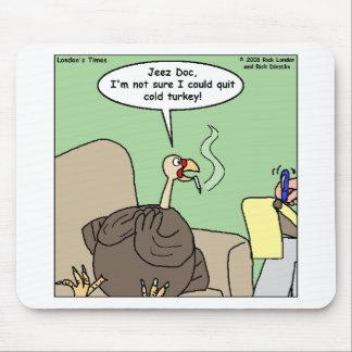 依存習慣の急な断ち切りのおもしろいなギフト及びティーを煙らすQuittng マウスパッド