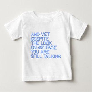 依然話すこと ベビーTシャツ