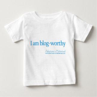 価値があるブログ ベビーTシャツ