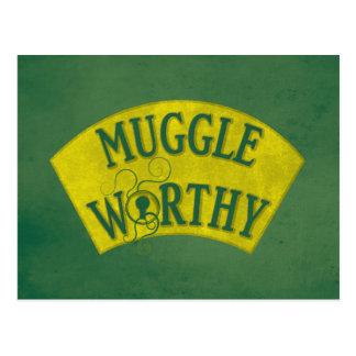 価値があるMuggle ポストカード
