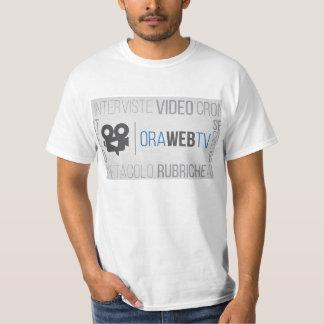 価値TシャツORAWEBTV Tシャツ