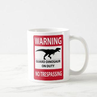 侵入の(Tレックスの)印無し コーヒーマグカップ
